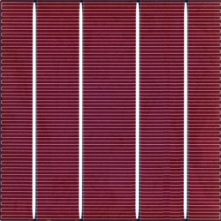 Color solar cell Tile Red