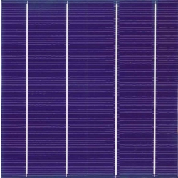 Color solar cell Deep Blue