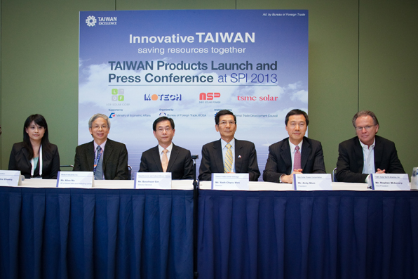 Taiwan Products Launch and Press Conference at SPI 2013.